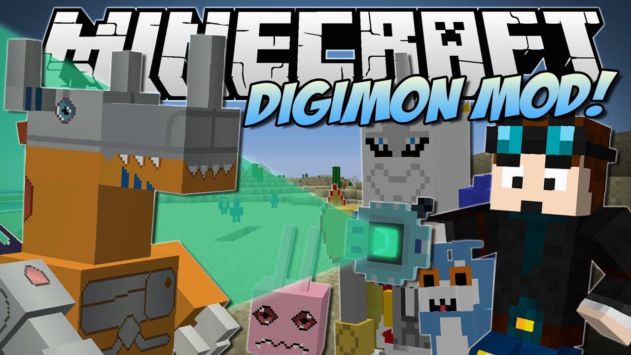 minecraft digimon mod digivolve Minecraft Mods, Resource Packs, Maps