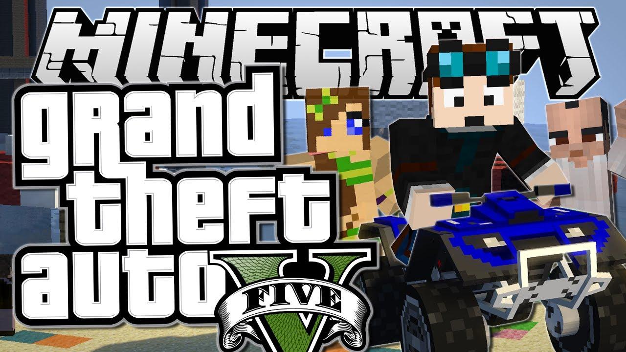 minecraft grand theft auto gta q Minecraft Mods, Resource Packs, Maps