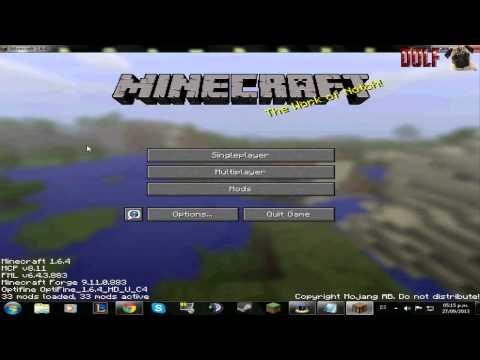 minecraft forge 1.6.2