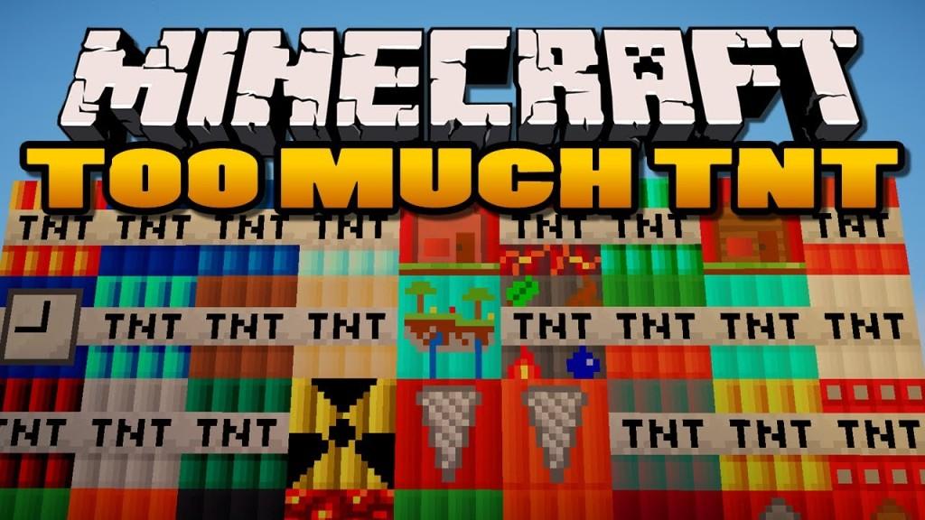 tnt Minecraft Mods, Resource Packs, Maps