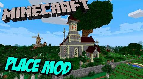 Place Mod Minecraft Mods, Resource Packs, Maps