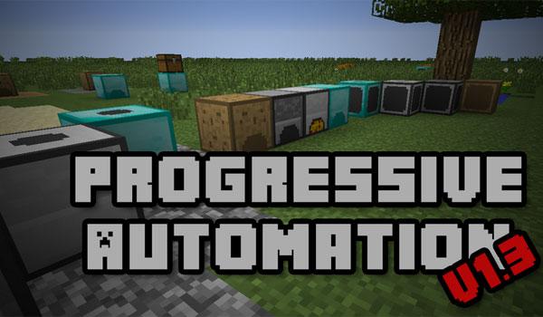 progressive automation mod 1 7 1 Minecraft Mods, Resource Packs, Maps