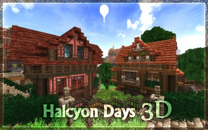 Halcyon days 3d resource pack Minecraft Mods, Resource Packs, Maps