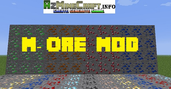 M Ore Mod preview Minecraft Mods, Resource Packs, Maps