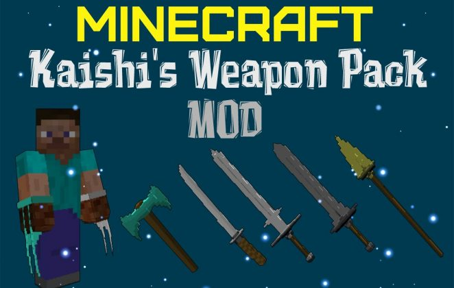 kaishis weapon pack mod 1 Minecraft Mods, Resource Packs, Maps