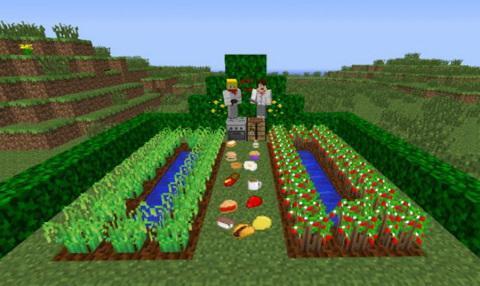 lots of food 3 Minecraft Mods, Resource Packs, Maps