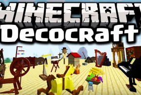DecoCraft Mod Minecraft Mods, Resource Packs, Maps