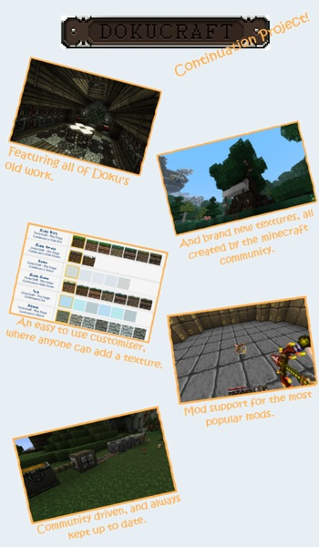 Download DokuCraft Resource Packs The Saga Continues