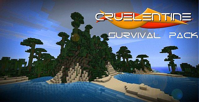 Download Cruelentine Survival Resource Packs